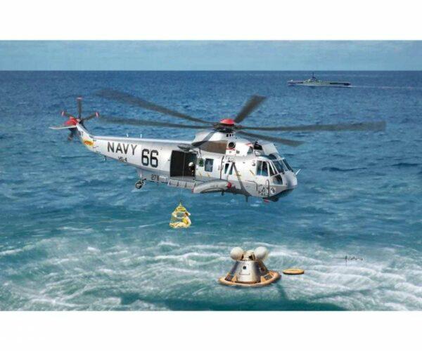 Apollo Recovery SH-3D Helo 66 & Apollo Command Module
