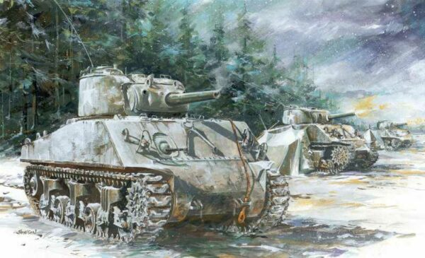 Sherman M4A3 (105mm) VVSS