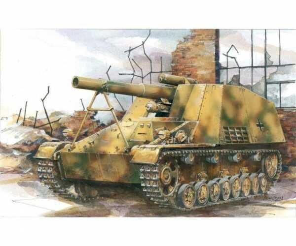 Sd.Kfz.165 Hummel Early Production w/Neo Track
