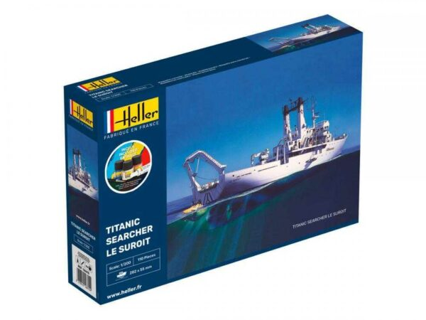 Titanic Searcher Le Suroit - Starter Kit