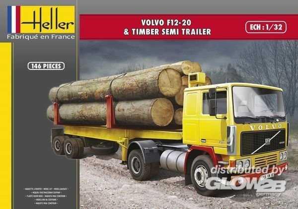 F12-20 & Timber Semi Trailer