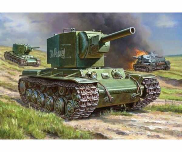 WWII Rus. Panzer KV-2 Gigant