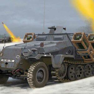 Sd.Kfz. 251/1 Ausf. C + Wurfrahmen
