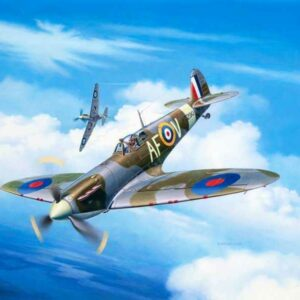 Model Set Spitfire Mk.IIa