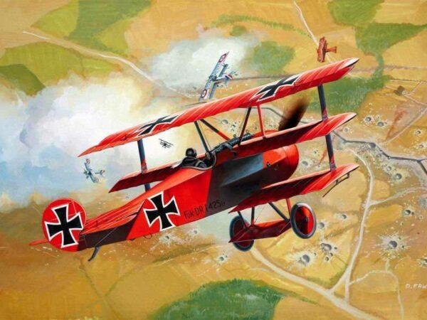 Model Set Fokker DR.1 Triplane