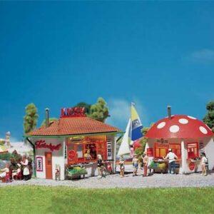 Kiosk und Pilzkiosk