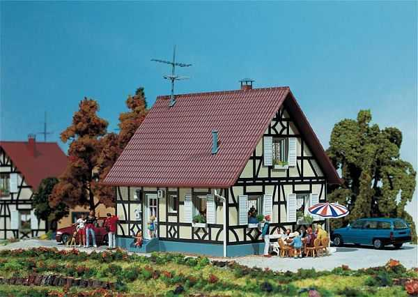 Einfamilienhaus mit Fachwerk