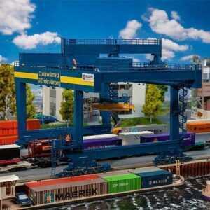 Containerbrücke GVZ Hafen Nürnberg