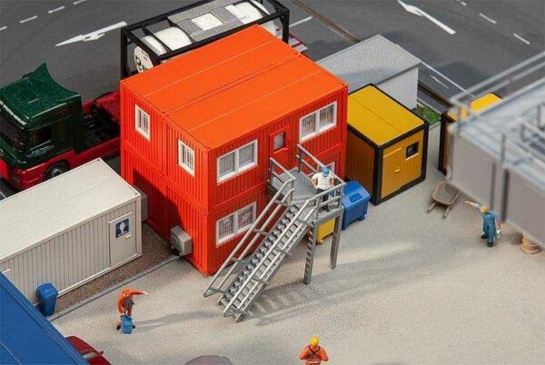 4 Baucontainer