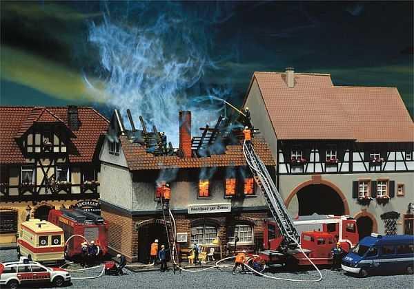 Brandruine Gasthaus Zur Sonne