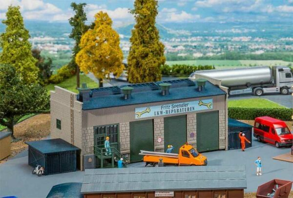 LKW-Werkstatt