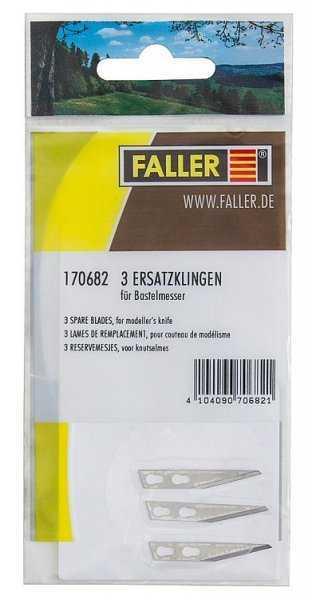 3 Ersatzklingen für Bastelmesser