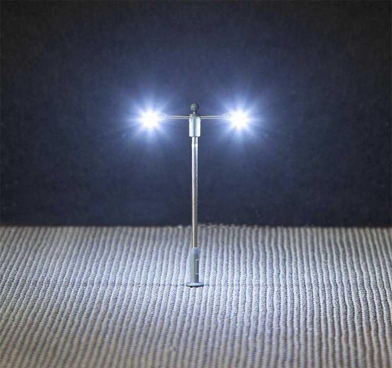 LED-Straßenbeleuchtung, Doppelausleger