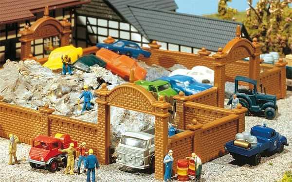Fabrikmauer