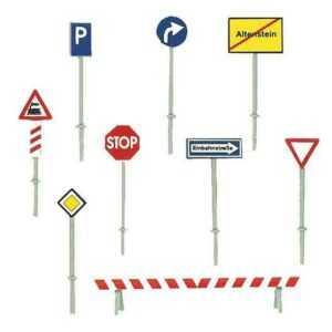 Verkehrsschilder-Set