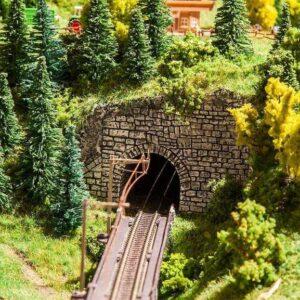 Dekorplatte Tunnelportale Landwasser