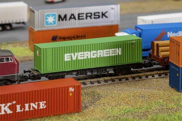 40´ Hi-Cube Container EVERGREEN