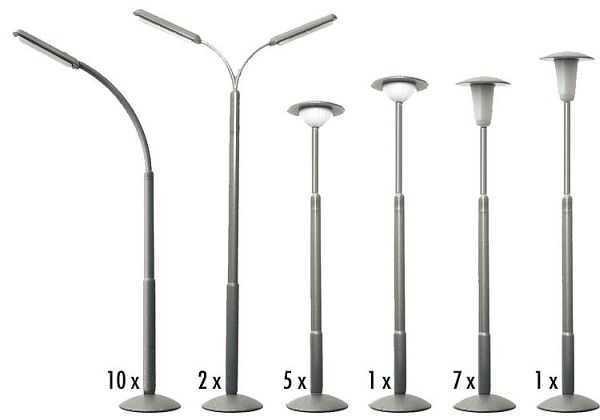 Straßenlampen-Set
