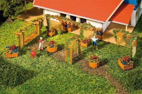 Gartengestaltungs-Elemente