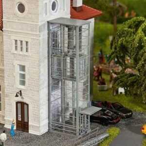 Moderne Aufzüge