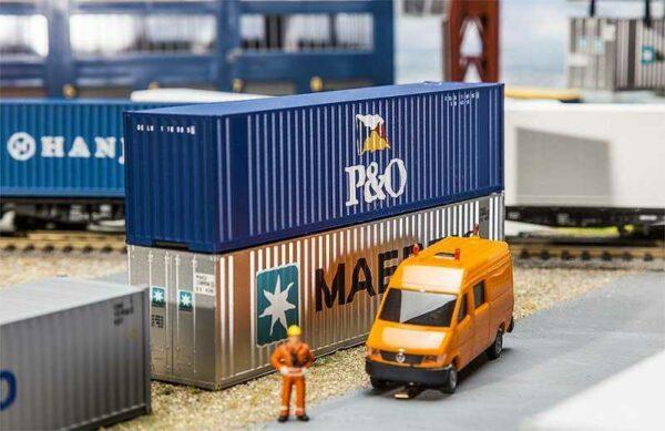 40´ Hi-Cube Container P&O