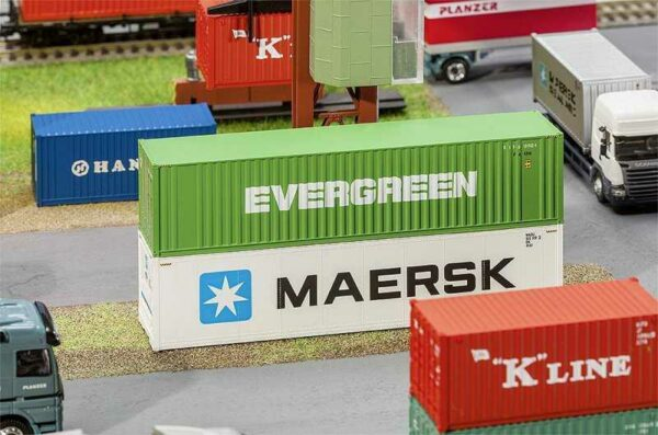 40´ Hi-Cube Container EVERGRENN