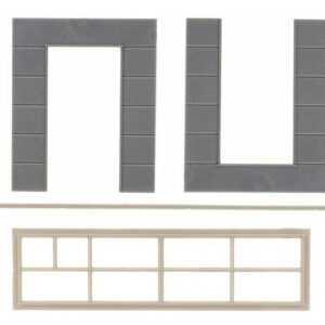 2 Wandelemente mit hohen Fenstern - Goldbeck