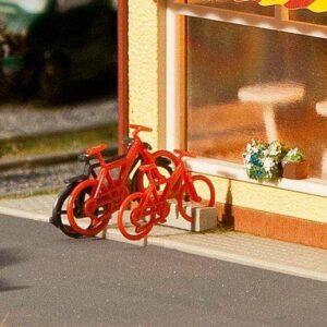 8 Fahrräder