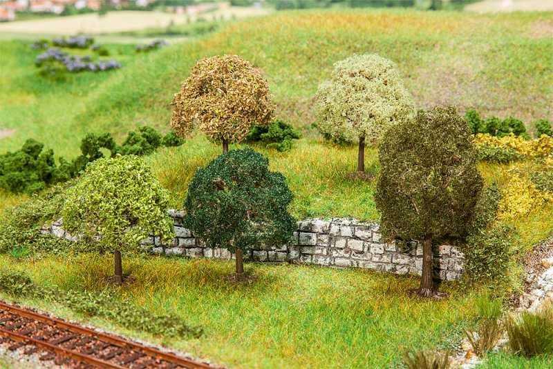 5 PREMIUM Bäume, klein, sortiert