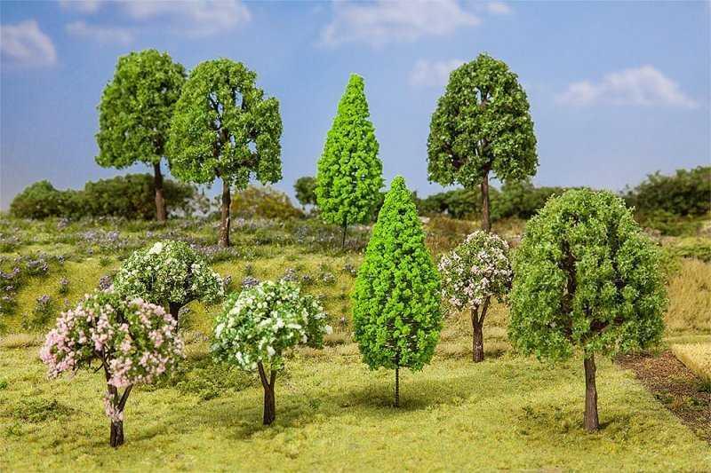 10 Laubbäume