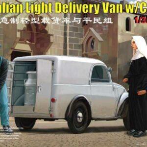 Italian Delivery Van w/civilian