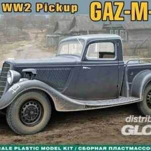WWII Soviet pick-up GAZ-M-415