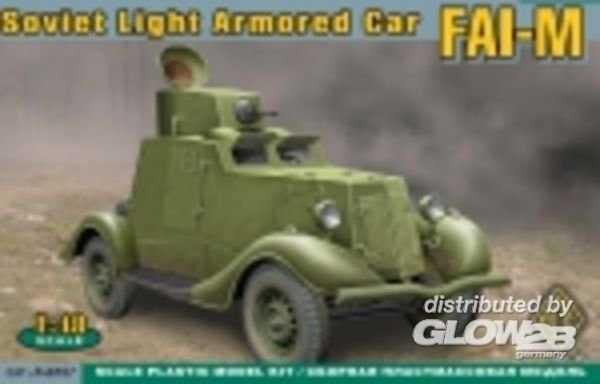 FAI-M Soviet light armored car
