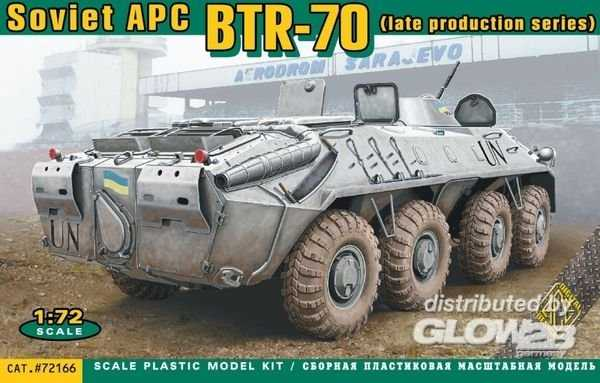 BTR-70 Soviet armored personnel carrier late prod.