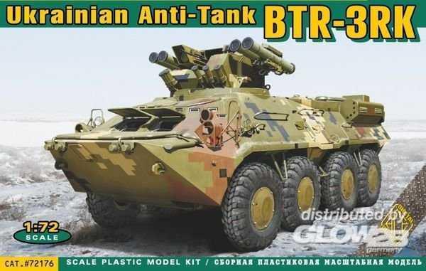 BTR-3RK Ukrainian anti-tank vehicle