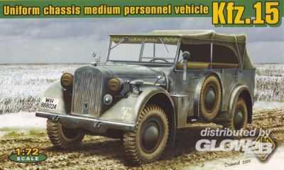 Kfz.15 uniform chassis medium vehicle