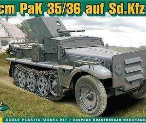 37 mm PaK 35/36 auf Sd.Kfz 10