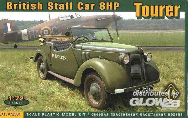 British Staf car 8hp Tourer