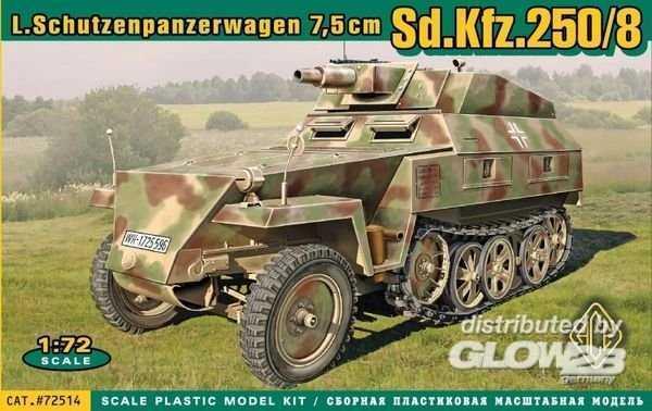 Sd.Kfz.250/8 Leichter Schutzenpanzerwage (7