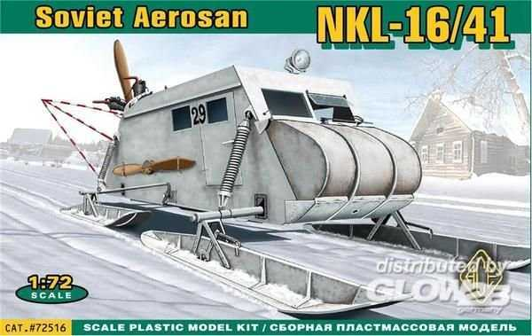 Soviet armored aerosan NKL-16/41