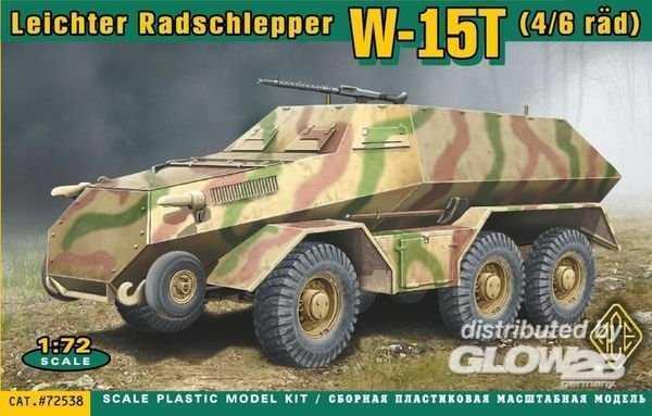 W-15T(4/6rad) Leichter Radschlepper