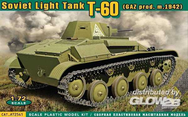 T-60 Soviet light tank(GAZ prod.m.1942)
