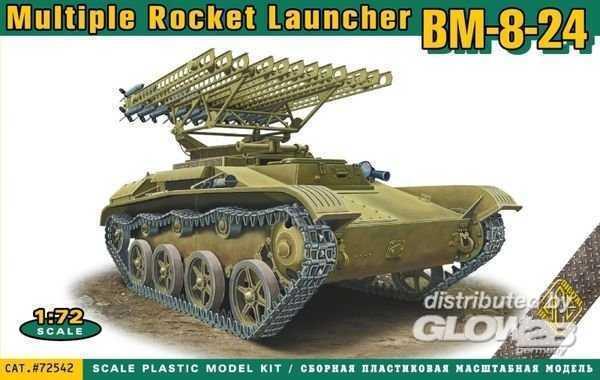 BM-8-24 multiple rocket launcher