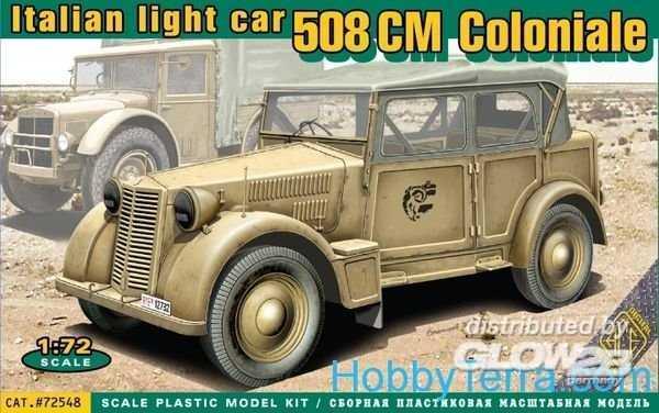 508 CM Coloniale Italien light car