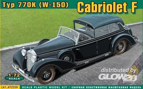 Typ 770K (W-150) Cabriolet F.