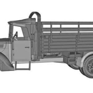 G917T 3t German cargo truck (m.1939 soft cab)