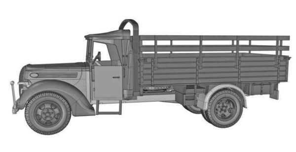 G917T 3t German cargo truck (m.1939 soft cab)