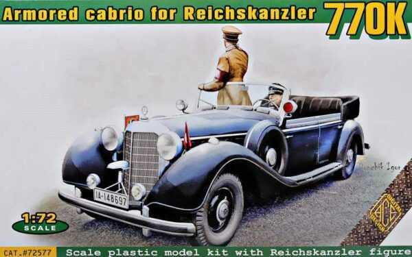 Typ 770K armored cabrio for Reichskanzler