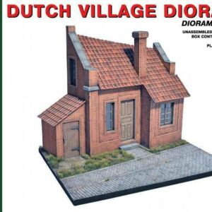 Holländisches Dorf Diorama