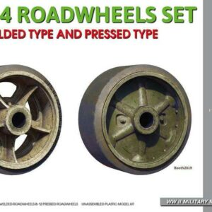 M3/M4 Roadwheels Set - welded type and pressed type